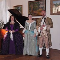 Breznice castle, 10.5.2008, Mozarts nocturne
