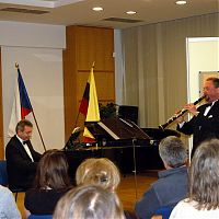 Galerie 14, Praha 14, 11.2.2009, s M. Rezkem