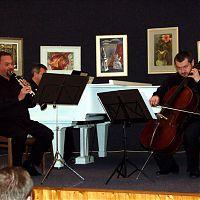 Mělník, 18.2.2009, Pražské komorní trio