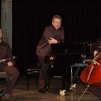 Prague Chamber Trio, with M. Rezek and T. Strasil
