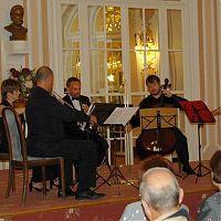 Lázně Jáchymov, 10.9.2009, s Kubelík kvartetem