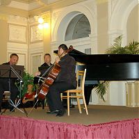 Františkovy Lázně, 23.9.2009, Pražské komorní trio