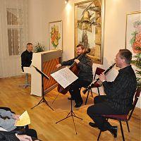 Galerie 10, Praha, 8.2.2012, Pražské komorní trio