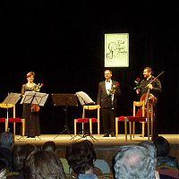 Strakonice, 17.4.2012, s Kubelík kvartetem
