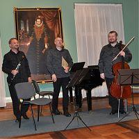 7.5.2013, Pražské komorní trio, Cheb, Valdštejnská obrazárna