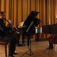 Brno, Old Town Hall, 4.11.2014, Prague Chamber Trio