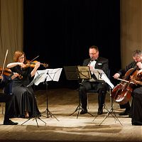 Domazlice, 9.2.2016, with Kubelik Quartet