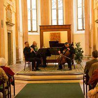 Jindřichův Hradec, kaple sv. Máří Magdaleny, 19.4.2016, Pražské komorní trio