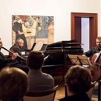 Česká Lípa, villa Hrdlička, 7.12.2017, Pražské komorní trio