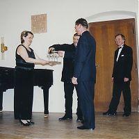 """Baptism of CD """"Clarinet Recital"""", april 2001"""