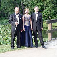Trio con Canto, chateau park Blatna, summer 2005