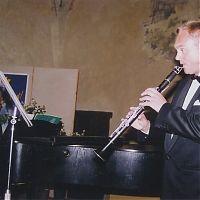 S D. Wiesnerem, Strakonický hrad, léto 2004