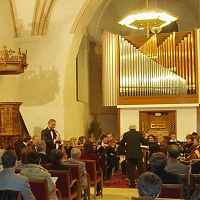 Solo with Pisek Chamber Orchestra, Pisek, spring 2005
