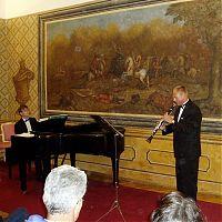 S D. Wiesnerem, Bertramka, srpen 2005
